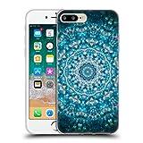 Head Case Designs Offiziell Zugelassen Monika Strigel Meerblau Mandala Soft Gel Handyhülle Hülle Huelle kompatibel mit Apple iPhone 7 Plus/iPhone 8