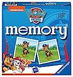 Ravensburger - 20743 Paw Patrol Memory, der Spieleklassiker für alle Fans der TV-Serie Paw Patrol, Merkspiel für 2-8 Spieler ab 4 J