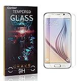 Conber [4 Stück] Displayschutzfolie kompatibel mit Samsung Galaxy S6, Panzerglas Schutzfolie für Samsung Galaxy S6 [9H Härte][Hüllenfreundlich]