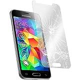 PhoneNatic 1 x Glas-Folie klar kompatibel mit Samsung Galaxy S5 Mini - Panzerglas für Galaxy S5 M