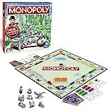 Hasbro Gaming C1009100 Monopoly Classic, Gesellschaftsspiel für Erwachsene & Kinder, Familienspiel, der Klassiker der Brettspiele, Gemeinschaftsspiel für 2 - 6 Personen, ab 8 J