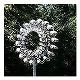 ZJJX Einzigartige Windmühle, Magische Windmühle aus Metall, Windspinner für Draußen, Windfänger für den Hof, Terrasse, Garten Dek