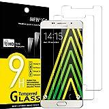 NEW'C 2 Stück, Schutzfolie Panzerglas für Samsung Galaxy A5 2016, Frei von Kratzern, 9H Härte, HD Displayschutzfolie, 0.33mm Ultra-klar, Ultrabeständig