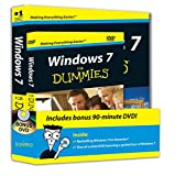 Windows 7 For Dummies Book + DVD b