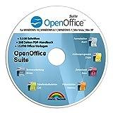 Open Office Suite 2021 Home Student Professional - 100% kompatibel mit Microsoft® Office® Word® und Excel® für Windows 10-8-7-Vista-X