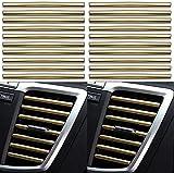 Gfyuan Für Land Rover Autoinnenraum voller gerader Luftauslass 10 Stück Autoform Klimaanlage Luftauslass Zierstreifen Persönlichk