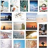20er Postkarten Set zum Thema LEBEN mit Sprüchen und Zitaten – Jede Postkarte ein Spruch oder Z