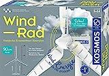 KOSMOS 620592 Wind-Rad Experimentierkasten, Entdecke erneuerbare Energ