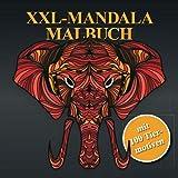XXL-Mandala Malbuch - mit 100 T