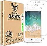iSOUL [4 Stück] Displayschutzfolie für iPhone SE 2020 / iPhone 7 / iPhone 8 4.7 Zoll [Anti-kratzen] 0.30mm Glasfolie 9H Härte HD klarer Schutz Schutzfolie [Blasenfrei] Panzerg