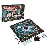Hasbro Monopoly Banking Ultra - Klassiker der Brettspiele mit elektronischem Kartenleser, Familienspiel ab 8 J