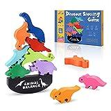 LET'S GOgxa Spielzeug ab 3-12 Jahren, Holzspielzeug Kinderspielzeug Dinosaurier Spielzeug Junge 3-12 Jahre Geschenk Mädchen Junge 3-12 Jahre Spiele ab 3-12 Jahre Montessori Spielzeug ab 3-12 J