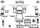 MERIC Cockpit Dekor (CD-WU00131) Exclusive 3D Ausführung, 25 Teile, Farbe: W