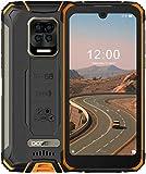 DOOGEE S59 Pro Outdoor Smartphone Ohne Vertrag, 10050mAh 4GB + 128GB Outdoor Handy 2W Lautsprecher 16MP Kamera, 5,71' Zoll Wasserdichtes Telefon mit 4G Dual SIM, Face Fingerprint, NFC/GPS(Orange)