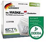 COCO BLANCO FFP2 Masken CE Zertifiziert Deutscher Hersteller I 20 Stück MADE IN GERMANY I DEKRA Z