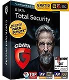 G DATA Total Security 2021 | 3 Geräte - 1 Jahr | Virenschutzprogramm | Passwort Manager | PC, Mac, Android, iOS | DVD | inkl. Webcam-Cover | zukünftige Updates ink