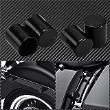 Motorräder Ersatzteile 4pcs Motorrad-Anschlussteile-Punkt-Abdeckung gepasst for Harley Touring Road King Street Glide FLHR FLHX Sport XL883 Softail Dyna (Color : 2017 2019 G)