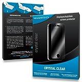 SWIDO Schutzfolie für Samsung Galaxy S6 Mini [2 Stück] Kristall-Klar, Hoher Härtegrad, Schutz vor Öl, Staub und Kratzer/Glasfolie, Displayschutz, Displayschutzfolie, Panzerglas-F