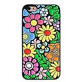 Joyleop Schutzhülle für iPhone 8 Plus/7 Plus, 3D, weiches Silikon, farbenfrohes Blumenmuster, niedliches Design, luxuriös, einzigartige Kinder-Mädchen-Sichthaut, kreatives Modeschmuck, bunt, 7 14