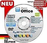 NEU : OPEN OFFICE für Windows 10 WINDOWS 8 Win 7 XP VISTA ersetzt Word Excel Schreibprogramm Textprog