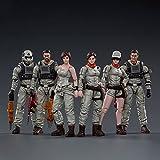 xSuper JOYTOY 1/18 10,5 cm Actionfigur Modell Spielzeug Mech Maintenance Team A 1/18 Soldatenfiguren, 6 Soldaten Actionfiguren Militärfiguren Modell Spielzeug mit Waffe, Sammlerstück