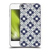 Head Case Designs Offiziell Offizielle Jacqueline Maldonado Sibori Blau Muster 2 Soft Gel Handyhülle Hülle kompatibel mit Apple Touch 6th Gen/Touch 7th G