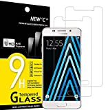 NEW'C 2 Stück, Schutzfolie Panzerglas für Samsung Galaxy A3 2016, Frei von Kratzern, 9H Härte, HD Displayschutzfolie, 0.33mm Ultra-klar, Ultrabeständig