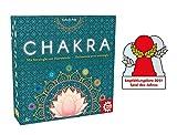 Game Factory 646277 Chakra, Mit Strategie zur Harmonie, Familienspiel, Strategiespiel für Erwachsene und Kinder ab 8 J