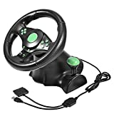 Gaming Racing Lenkrad für Xbox 360/PS2/PS3/PC-USB Plug & Play
