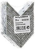 GAH-Alberts 330316 Winkelverbinder | sendzimirverzinkt | 50 x 50 x 40 mm | 25er S