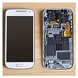 WSNDY LCD Display für Samsung Galaxy S4 Mini I9190 I9192 I9195 LCD Touch Screen Digitizer Assembly Frame LCD Display Touchscreen (Farbe: Dunkelblau mit Rahmen)
