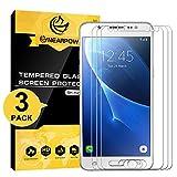 NEARPOW [3 Stück Kompatibel mit Panzerglas Displayschutzfolie Samsung Galaxy J5 2016, Schutzfolie 9H Härte, Anti-Kratzen, Anti-Öl, Anti-Bläschen, Anti-Fingerabdruck