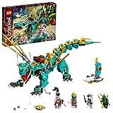 LEGO71746NINJAGODschungeldracheBauset,mitNinjaLloydundZaneMinifiguren,DracheSpielzeugab8JahrenfürJungenundM