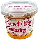 Sweet Wax 21° - Gold - 449g Natürliche Sugaring Zuckerpaste zur Haarentfernung per Hand. Für Temperaturen unter 21° und erfahrene Anwender. Brazilian Wax zur enthaarung fü