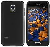 mumbi Hülle kompatibel mit Samsung Galaxy S5 mini Handy Case Handyhülle, schw