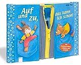 Auf und zu, das kann ich schon!: Mit Klettverschluss, Knöpfen und Schleife für Kinder ab 3 J