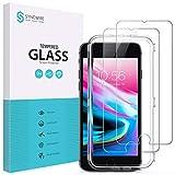 Syncwire Panzerglas für iPhone 8/7/6S/6 – [2 Stück] Schutzfolie aus Bruchsicher Hartglas, Panzerfolie (3D Touch, 9H, HD, Kratzfest, Blasenfrei, Anti-Oil, Rahmen) - 4.7 Z