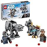 LEGO75298StarWarsat-atvs.TauntaunMicrofightersBausetmitLukeSkywalkerundat-atPilotMinifig