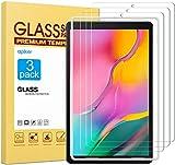 Apiker [3 Stück] Schutzfolie für Samsung Galaxy Tab A T510 / T515 [10,1 Zoll],Samsung Galaxy Tab A 10.1 2019 Panzerglas mit 9H Härte,Bläschenfrei,2.5D abgerundet Kante,einfach anzubring