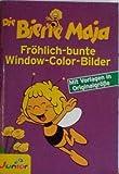 Die Biene Maja Fröhlich bunte Window-Color-Bilder- mit Vorlagen in Originalgröß