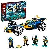 LEGO 71752 NINJAGO Ninja-Unterwasserspeeder, U-Boot Spielzeug ab 8 Jahre, Set mit 4 Ninja Mini Fig