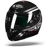 X-lite X-802RR Ultra Carbon SBK Integralhelm Motorrad - Carbon Weiss Größe S