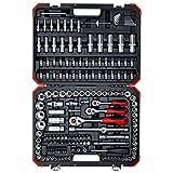 GEDORE red Steckschlüsselsatz, 172-teilig, Mit Umschaltknarre, Ratschen, Steckschlüssel und B