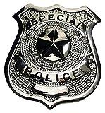 Unbekannt US Polizeiabzeichen, Special Police, Silber, Ansteck
