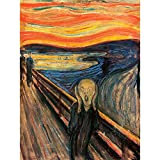 Wee Blue Coo Edvard Munch The Scream Old Master Painting Art Print Poster Wall Decor 12X16 I
