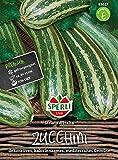 83617 Sperli Premium Zuchini Samen Striato Italia | Früh | Lange Ernte | Gestreifte Zucchini | Zuchini Saatgut | Zucchini G
